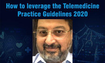 Dr. Milind Antani, Lead, Pharma, Healthcare, Medical Device & Digital Health Practice; Lead, Nishith Desai Associates on the guidelines of telemedicine -